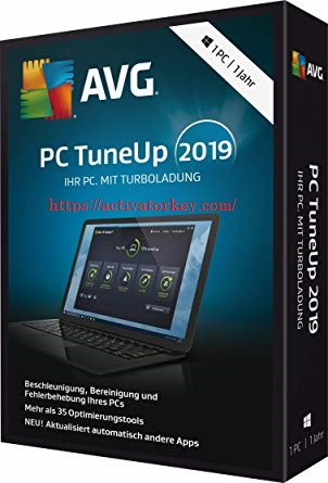 AVG PC TuneUp 2019 Serial Key Full Crack Free Download Also 2018